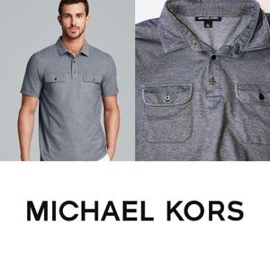 Michael Kors Birdseye Double Pocket Polo Shirt
